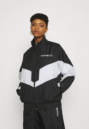 STREET - Veste de survêtement - black/pure platinum/white