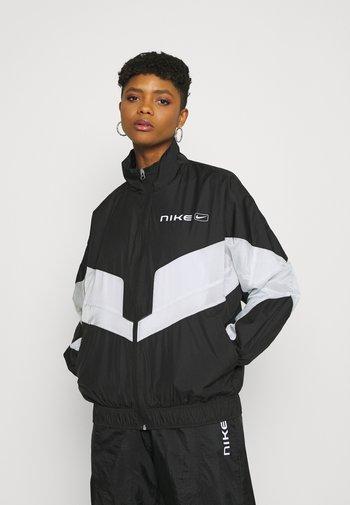 STREET - Treningsjakke - black/pure platinum/white