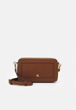 CROSSHATCH CROSSBODY - Across body bag - tan