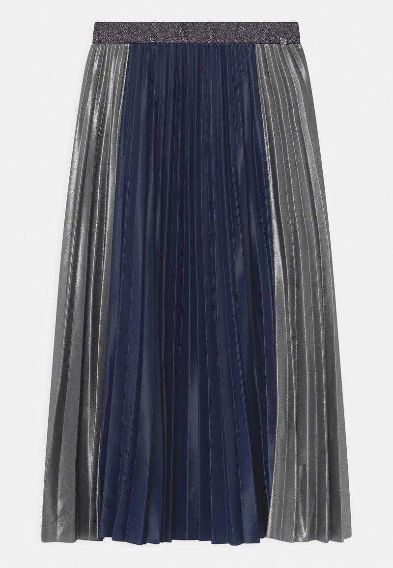 IKKS - Pleated skirt - navy