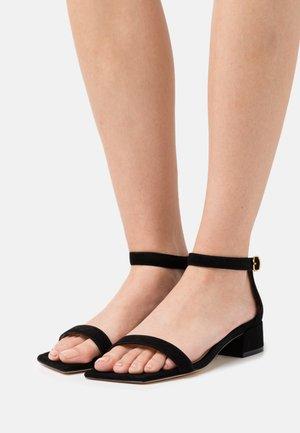 NUDISTJUNE SQUARE - Sandals - black
