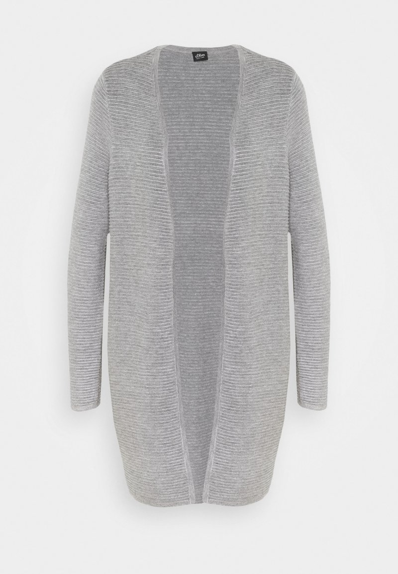 s.Oliver BLACK LABEL - LANGARM - Cardigan - light grey
