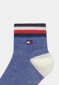 Tommy Hilfiger - PLAID CHECK 4 PACK UNISEX - Socks - blue - 2
