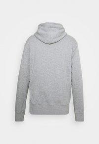 Nike SB - HOODIE UNISEX - Hoodie - grey heather/white - 1