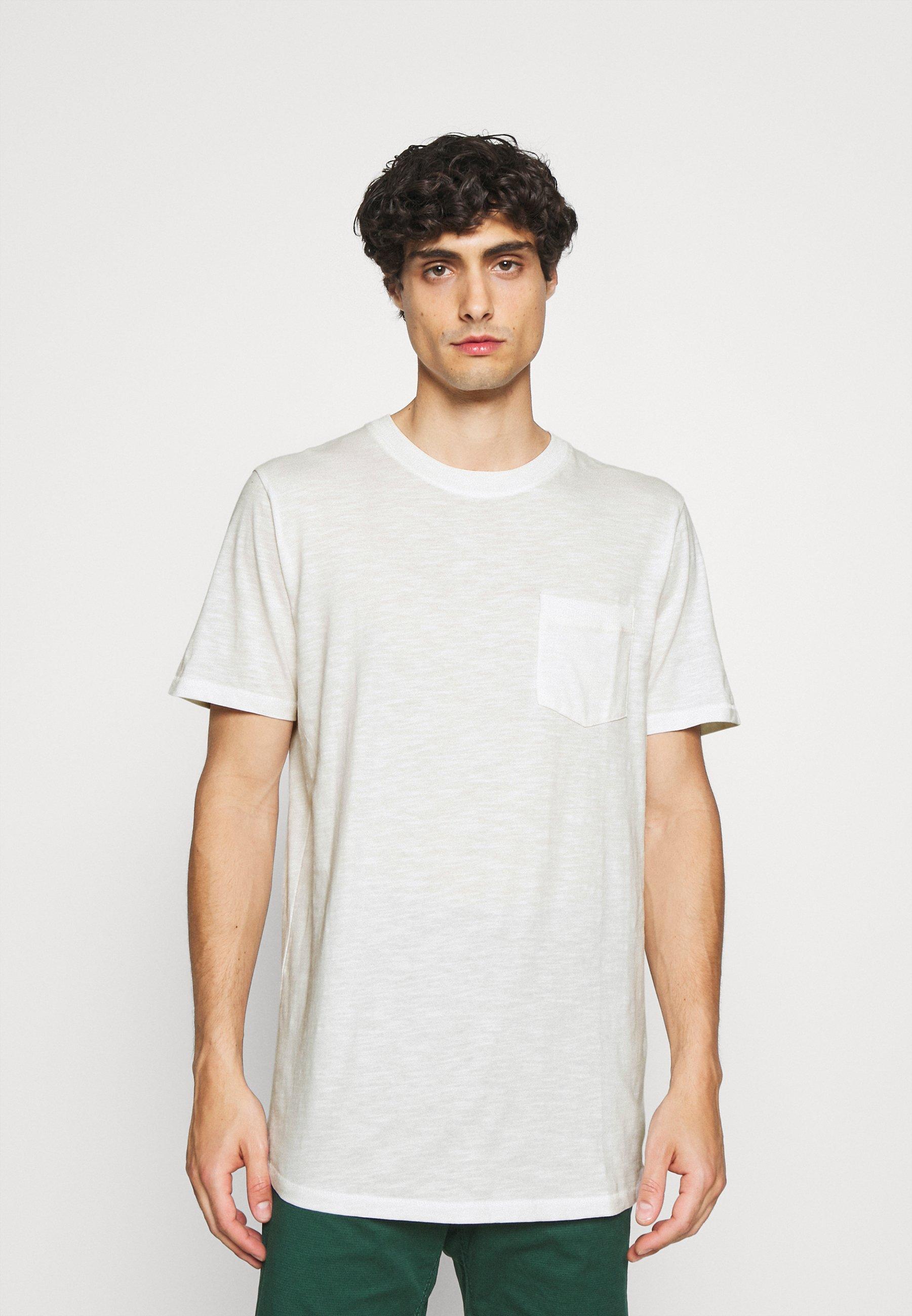 Homme SLHREGCARLOS  O NECK TEE - T-shirt basique