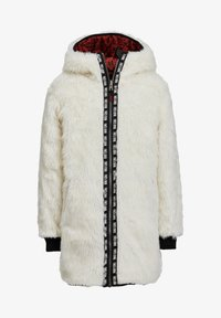 WE Fashion - MET CAPUCHON REVERSIBLE - Winter coat - terra cotta - 4