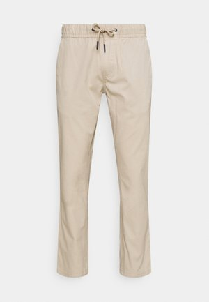 SCANTON DOBBY TRACK PANT - Trousers - soft beige