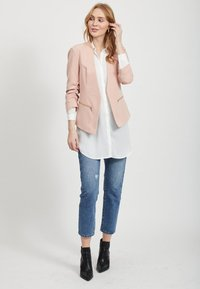 Vila - Button-down blouse - white - 1