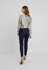Vero Moda - VMLEAH CLASSIC PANT - Trousers - night sky - 2