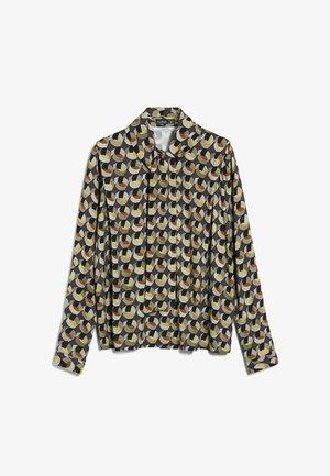 M-BILU - Button-down blouse - grau flieder