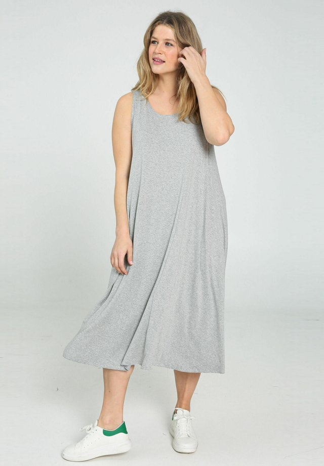 Vestido informal - heather gray