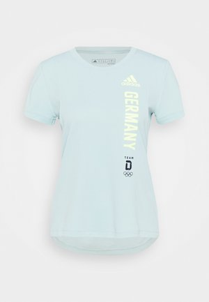 TEE - T-shirt print - mint