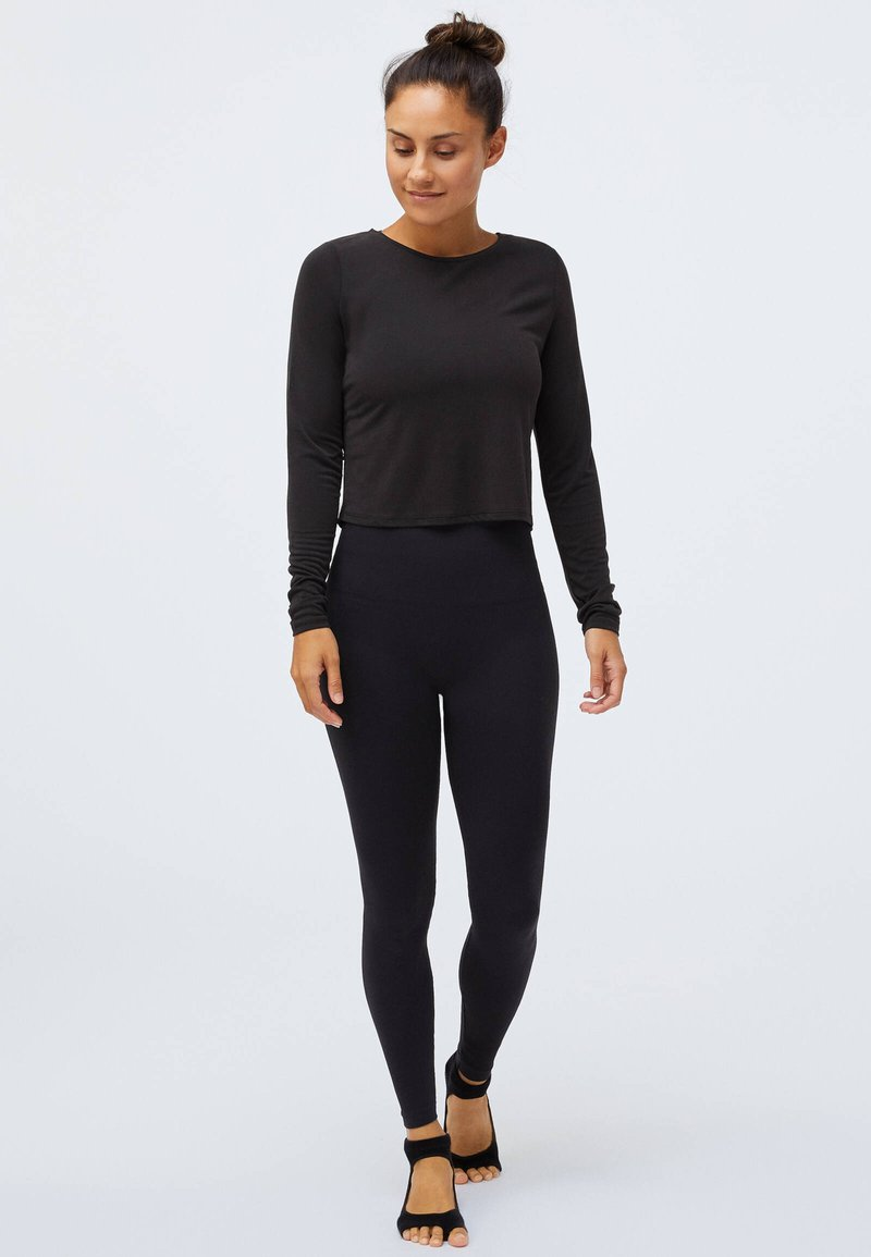 OYSHO - Long sleeved top - black