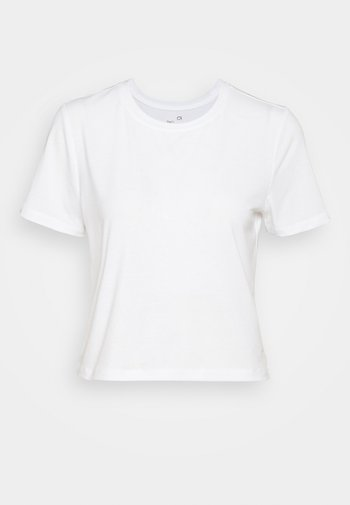DRY FASH - Jednoduché triko - optic white