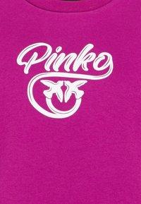 Pinko - BUFFY FELPA - Sweatshirt - ciclamino - 2