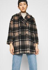 JUST FEMALE - CHELSEA COAT - Zimní kabát - walnut - 3
