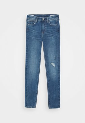 PIXLETTE HIGH - Jeans Skinny Fit - denim