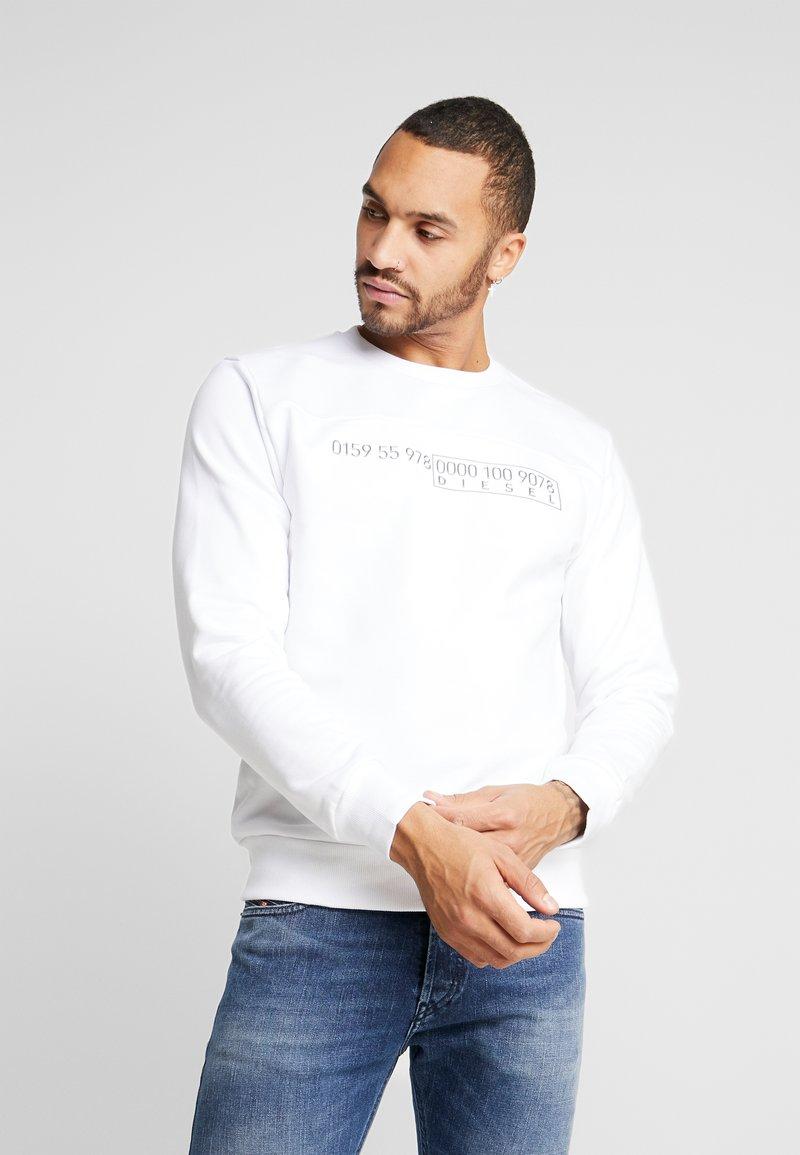 Diesel - S-CORY SWEAT-SHIRT - Sweatshirt - white