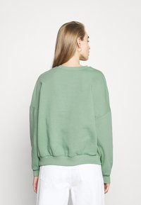 Even&Odd - Printed Crew Neck Sweatshirt - Sweatshirt - green - 2