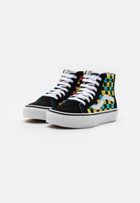 Vans - SK8 ZIP UNISEX - High-top trainers - black/multicolor - 1