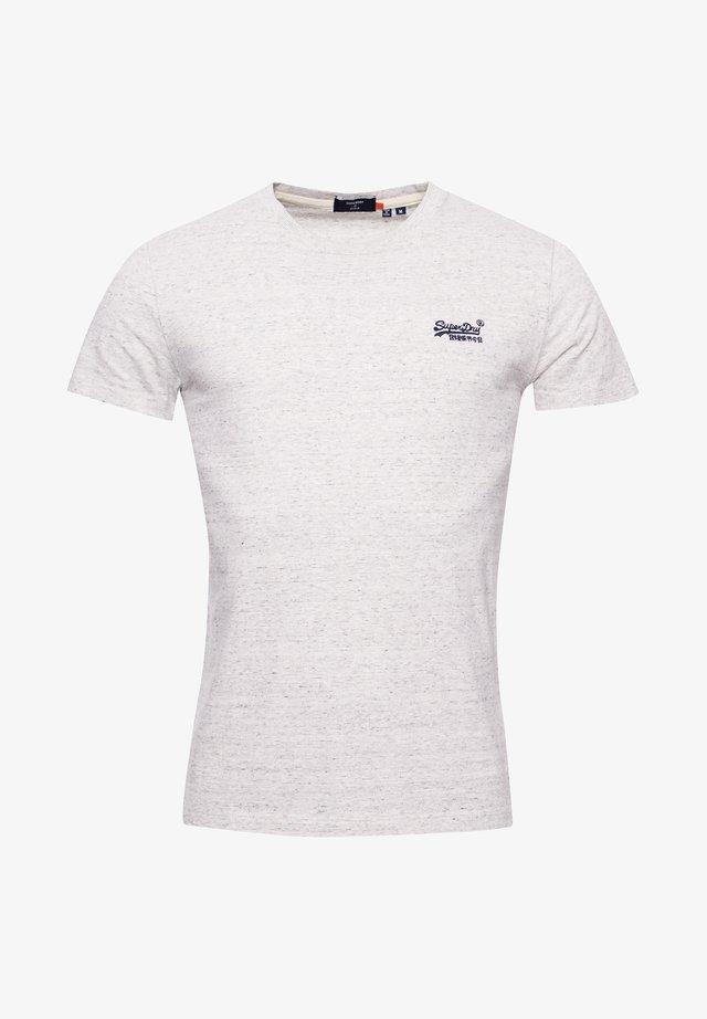 VINTAGE EMBROIDERY - T-shirt print - silver birch feeder