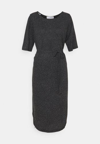 SLFIVY BEACH DRESS SOLID - Jersey dress - black