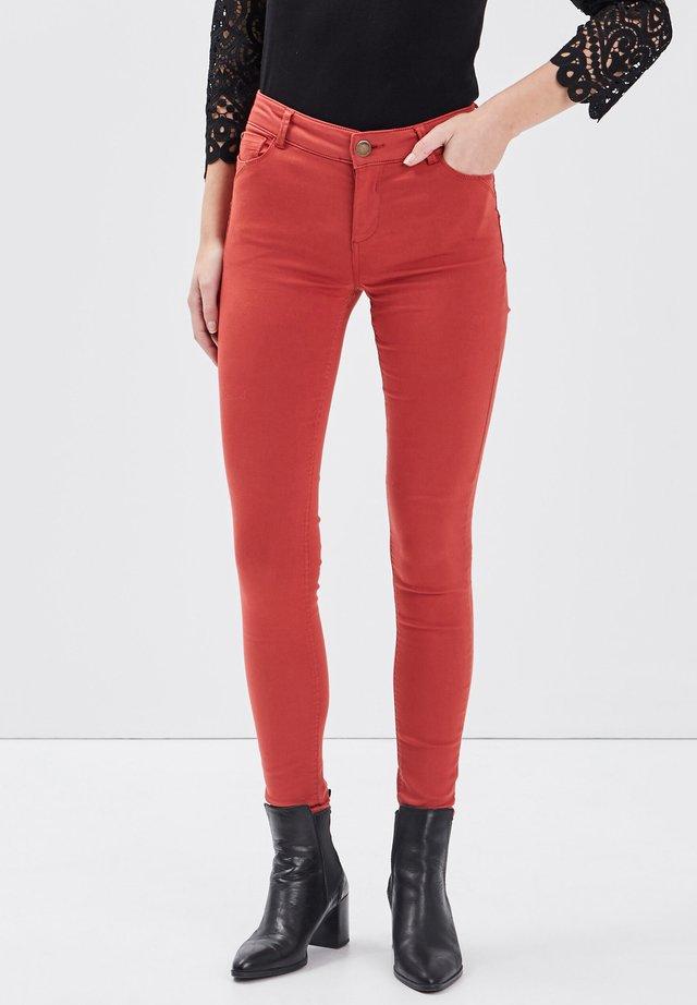 Jeans Skinny Fit - orange foncé