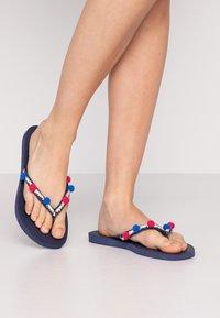 Havaianas - SLIM BOHO - Pool shoes - navy blue - 0