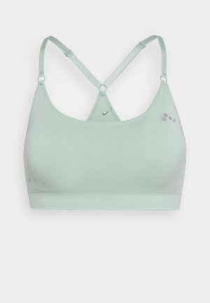 ONPLEA SEAMLESS  BRA - Medium support sports bra - gray mist