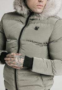 SIKSILK - DISTANCE JACKET - Winter jacket - khaki - 5
