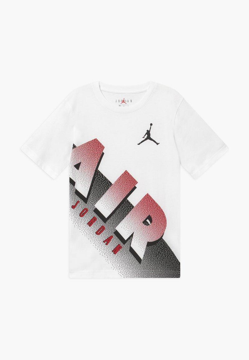 Jordan - AIR MEZZO TEE - T-shirt z nadrukiem - white