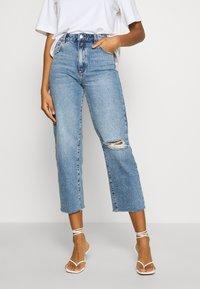 Abrand Jeans - VENICE  - Jeans straight leg - dark beat - 0