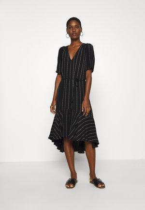 ALEXA DRESS - Denní šaty - black