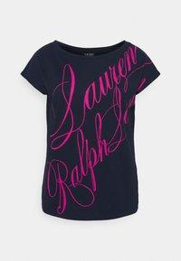 Lauren Ralph Lauren - UPTOWN - Print T-shirt - french navy - 4