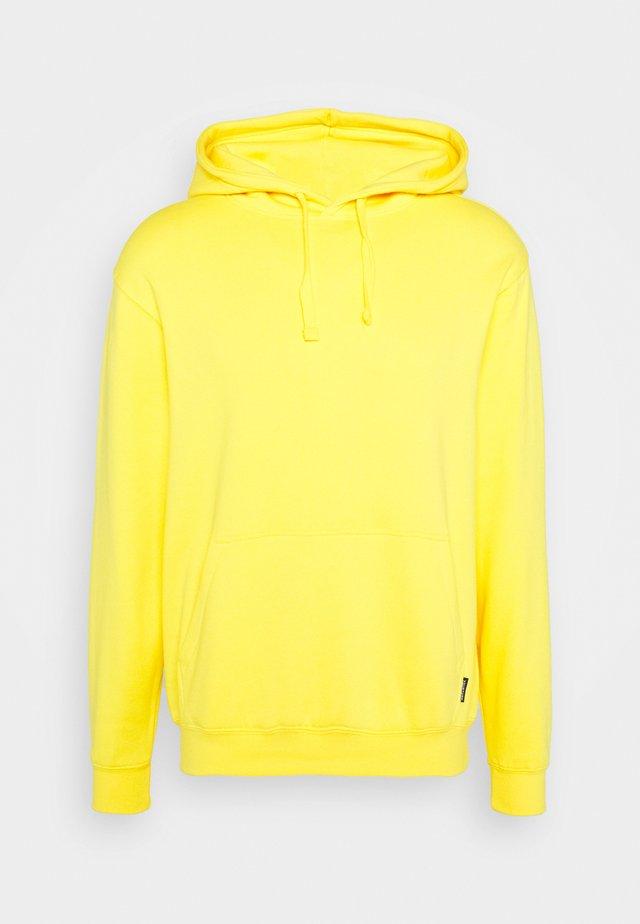 UNISEX - Sweat à capuche - yellow