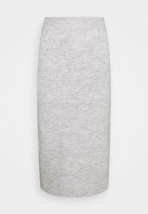 ONLCILLE SKIRT  - Pencil skirt - light grey melange