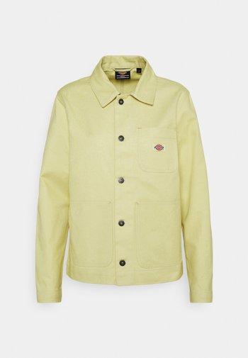 TOCCOA - Denim jacket - mellow green