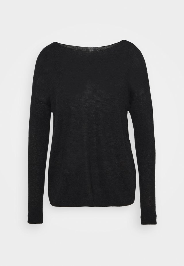 BOAT - Sweter - black