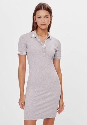 Shirt dress - light grey