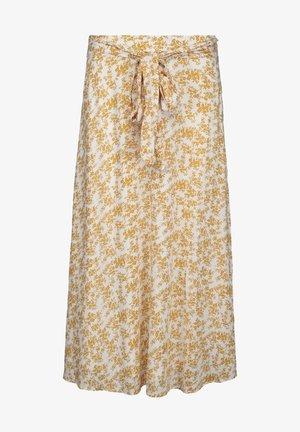 A-line skirt - old gold pr