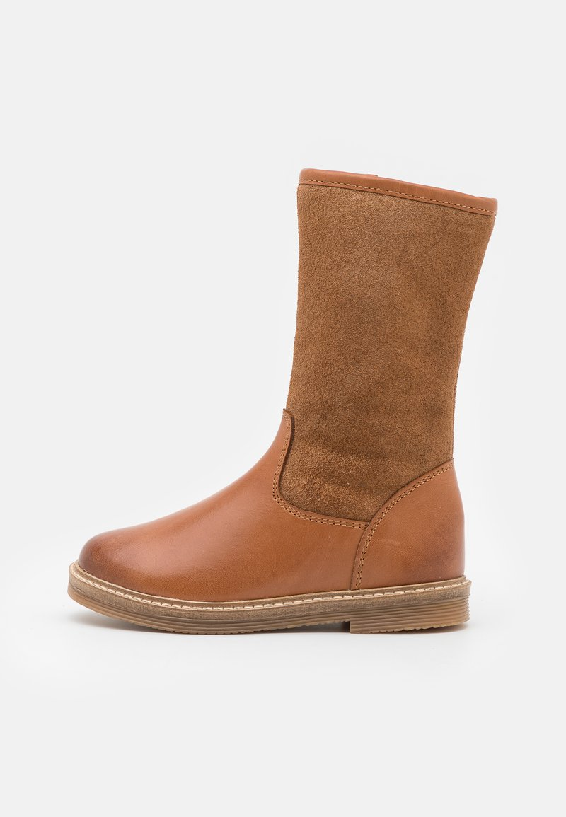 Friboo - LEATHER - Boots - cognac