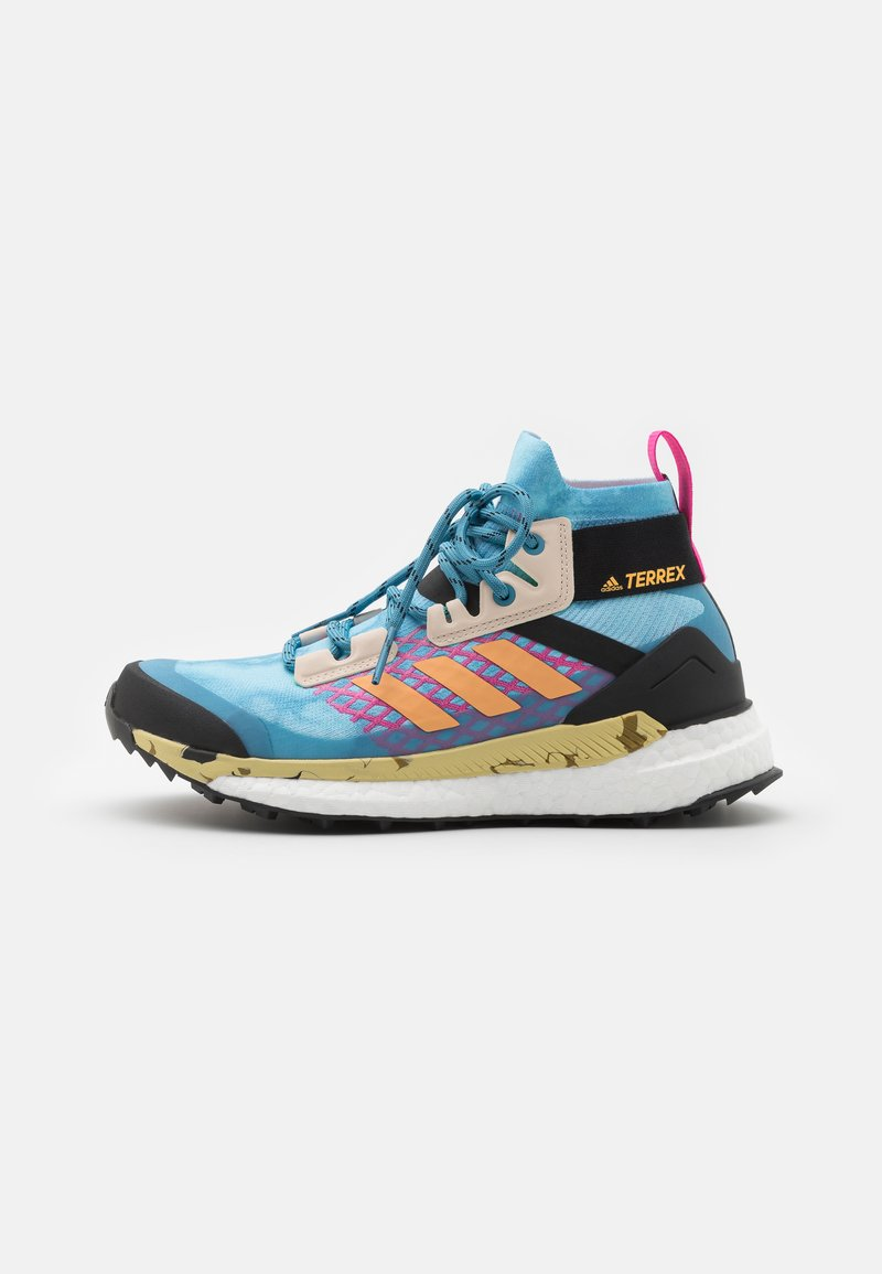 adidas Performance - TERREX FREE HIKER PRIMEBLUE  - Vaelluskengät - haze sky/haze orange/screw pink
