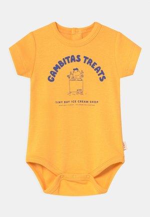 GAMBITAS TREATS UNISEX - Body - yellow/iris blue