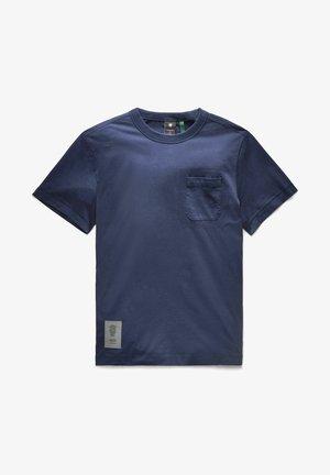 STITCH DETAIL POCKET - T-shirt basic - warm sartho