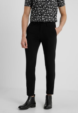 CLUB PANTS - Kangashousut - black
