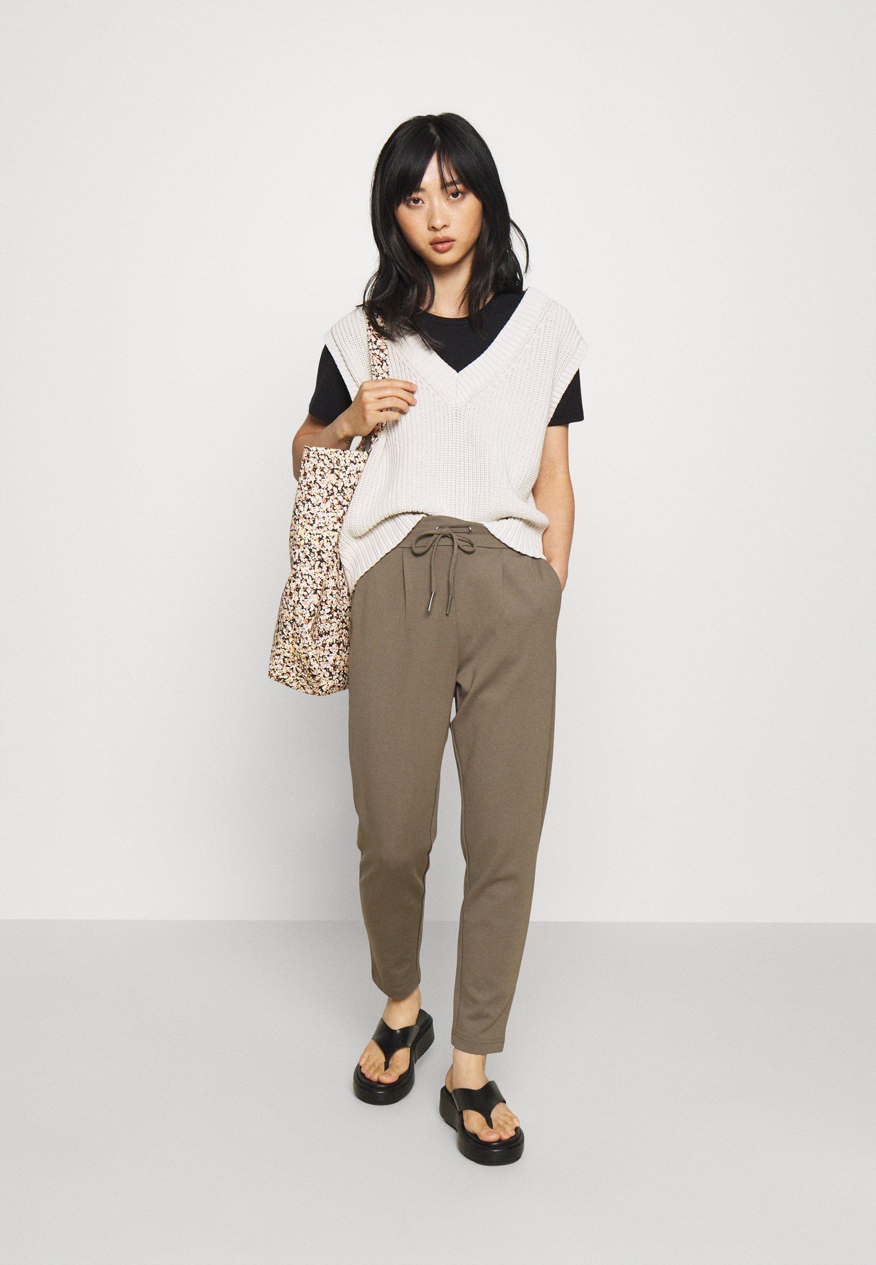 Women ONLPOPTRASH EASY COLOUR PANT - Trousers
