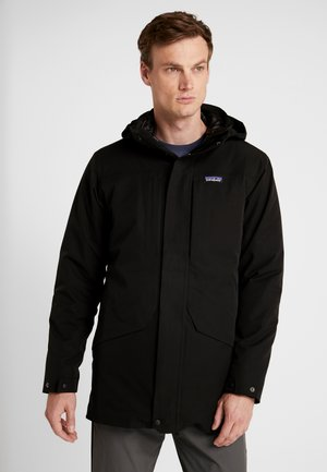 TRES 2-IN-1 PARKA - Piumino - black