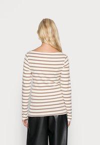 GAP - BATEAU - Long sleeved top - brown - 2
