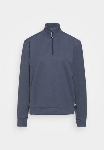 MONO AIR HALFZIP - Sweatshirt - storm blue
