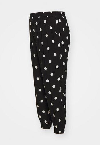 MATERNITY JOGGER - Pantalones - black